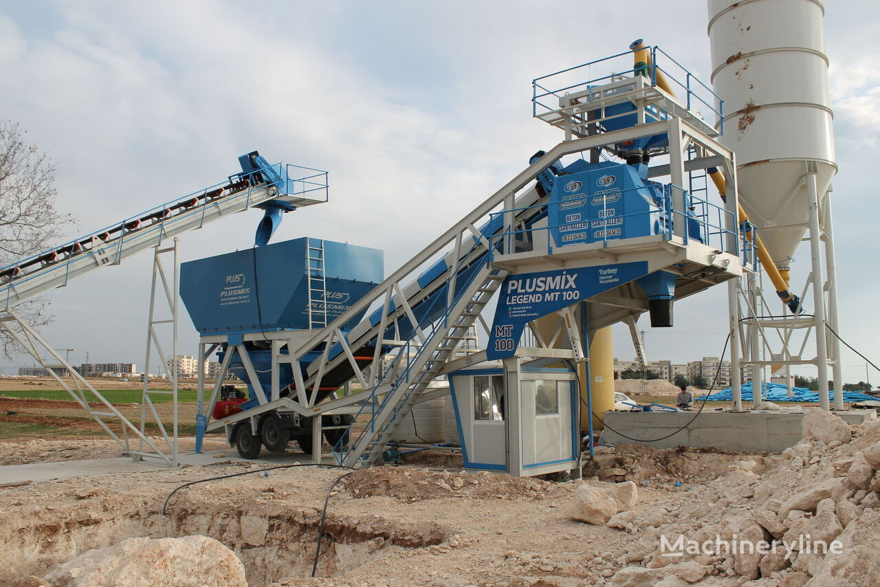 pabrik beton 100M3/H MOBİLE BATCHING PLANT- BETONYY ZAVOD - CENTRALE A BETON baru