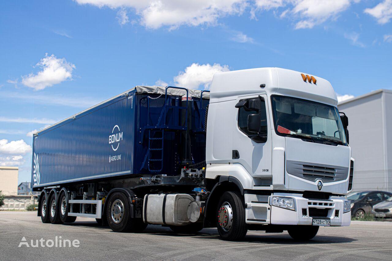 semi-trailer truck pengangkut biji-bijian Zernovoz BONUM baru
