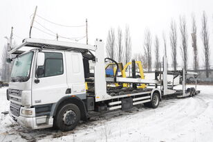 pengangkut mobil DAF CF 75 360 , E5 , 4x2 ,MEGA , LOHR , retarder , sleep cab + trailer pengangkut mobil