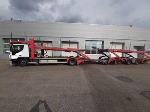 pengangkut mobil IVECO Stralis + trailer pengangkut mobil