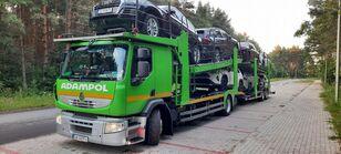 pengangkut mobil RENAULT Premium 410 + trailer pengangkut mobil