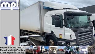 truk berpendingin SCANIA P340 rusak