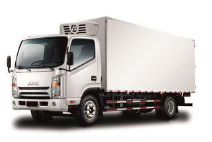truk berpendingin JAC Изотермический фургон с ХОУ JAC N 80 baru