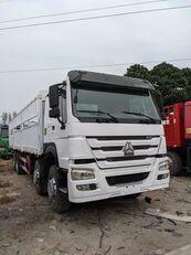 truk box HOWO 336 HP 8x4 Drive Stake Body General Cargo Truck