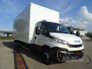 truk box IVECO 70C18 6.10 box with lift automatic
