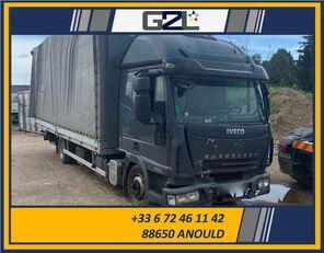 truk box IVECO EUROCARGO 75E18 *ACCIDENTE*DAMAGED*UNFALL* rusak