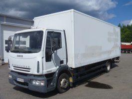 truk box IVECO EuroCargo 120 E18
