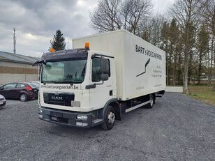 truk box MAN TGL 8.180 taillift/hayon - euro 5 - very good tyres