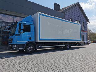 truk box PALFINGER winda MBB C 1500L + zabudowa / kontener