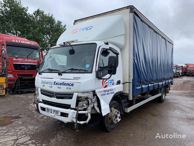 truk dengan terpal samping Mitsubishi Fuso 7.5T 2012 BREAKING FOR SPARES untuk suku cadang