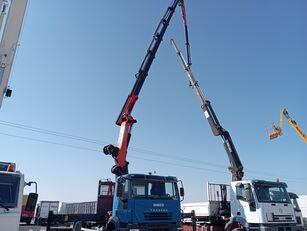 truk flatbed IVECO Trakker