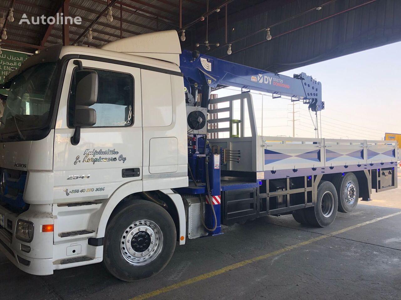 truk flatbed MERCEDES-BENZ Actros 2544