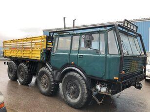 truk flatbed TATRA 813 8x8 year 1981 unique oldtimer