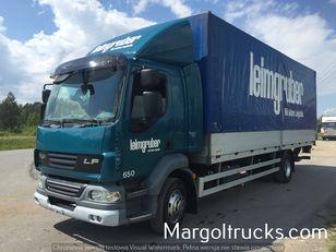 truk jungkit DAF LF 55 250 plandeka + winda Sprowadzony ze Szwajcarii