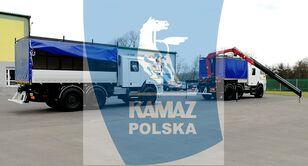 truk militer KAMAZ 6x6 SERWISOWO-WARSZTATOWY baru