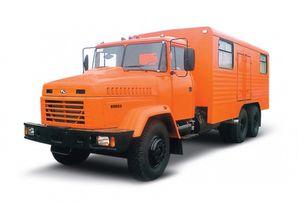 truk militer KRAZ 65053 мастерская baru
