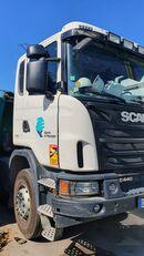 truk pembuangan SCANIA G440 rusak