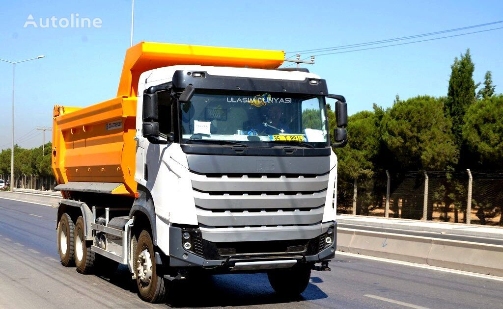 truk pembuangan BMC 3540 baru