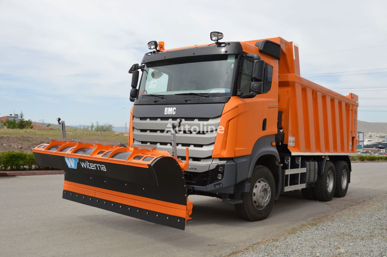 truk pembuangan BMC 3540 na sklade Kiev baru