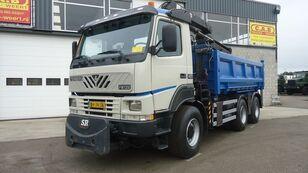 truk pembuangan TERBERG FM1350-WDGL 6x6 HIAB125
