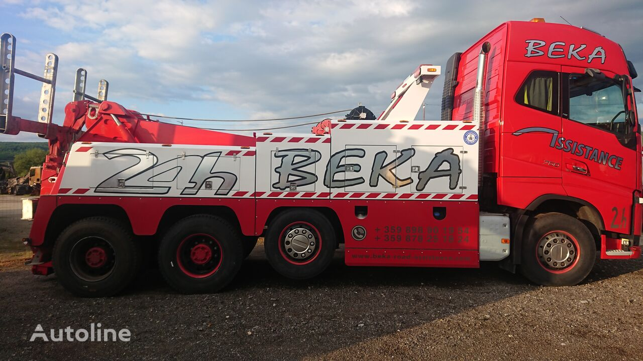 truk penderek VOLVO FH16 750