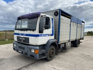 truk pengangkut hewan MAN 14.224 4x2 Animal transport