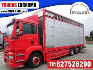 truk pengangkut hewan MAN TGA 26 350