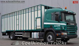 truk pengangkut hewan SCANIA 124G 420