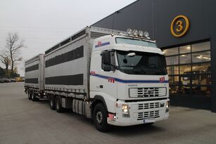truk pengangkut hewan VOLVO FH12.480 CHICKEN TRANSPORTER + trailer pengangkut ternak