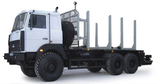 truk pengangkut kayu MAZ 6317Х9-444 (6x6)