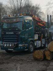truk pengangkut kayu SCANIA R620