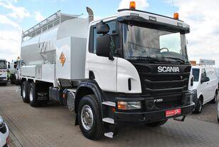 truk tanker SCANIA P360 Mobile Explosive Manufacturing Unit Heavy Anfo MPU